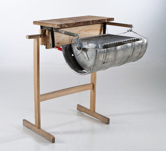 Fabriquer un barbecue 40 id es diy pour l 39 t prochain for Plan de travail fait maison