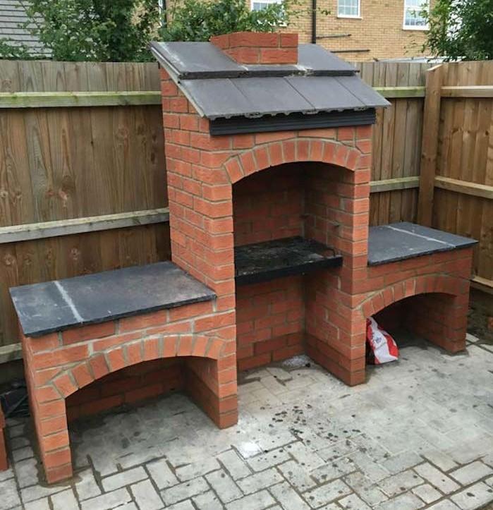 fabriquer barbecue brique. Black Bedroom Furniture Sets. Home Design Ideas