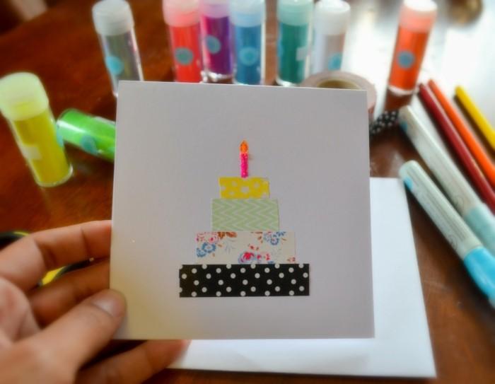 Häufig Carte de bon anniversaire - 68 idées que vous pouvez réaliser vous  XC23