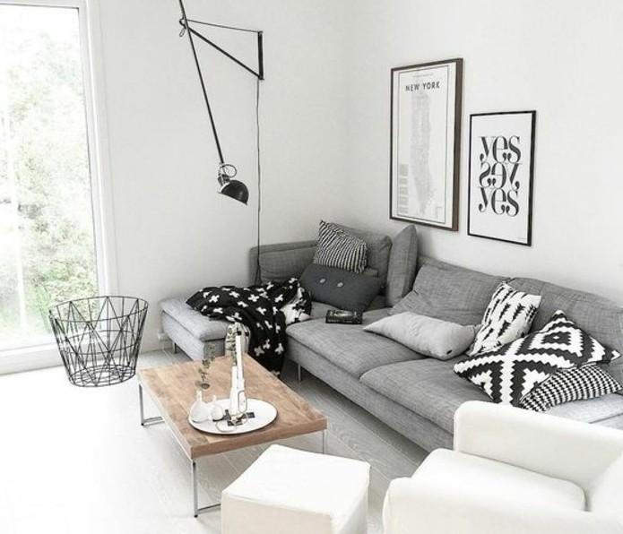 formidable-suggestion-salon-gris-et-blanc-couleur-peinture-salon-blanc-canape-gris-et-fauteuil-blanc-deco-epuree