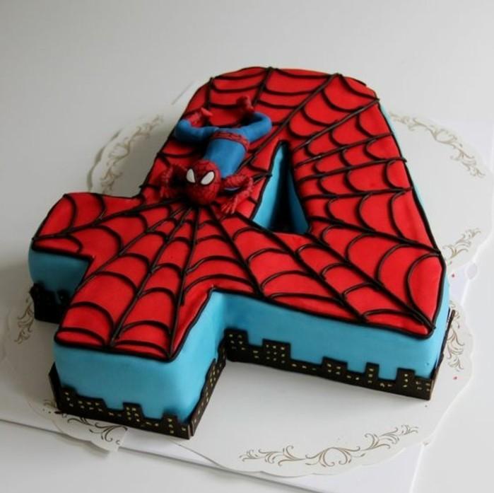 gateau-spiderman-design-creatif-de-gateau-super-heros