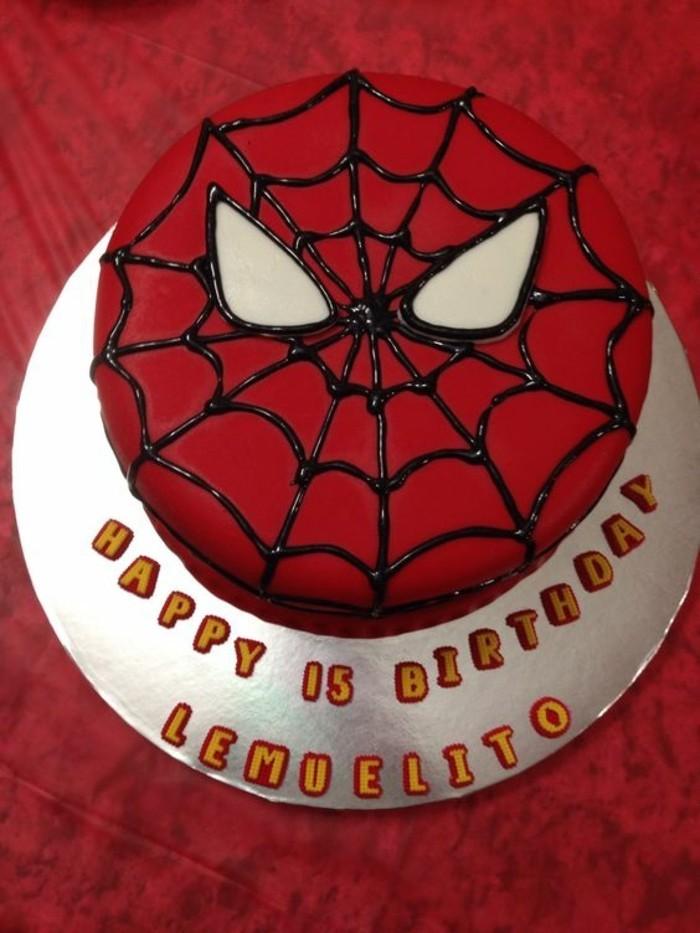 gateau-spiderman-design-original-gateau-spiderman-et-toile-daraignee