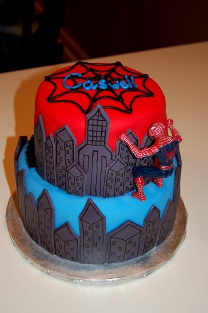 gateau-spiderman-idee-gateau-anniversaire-original