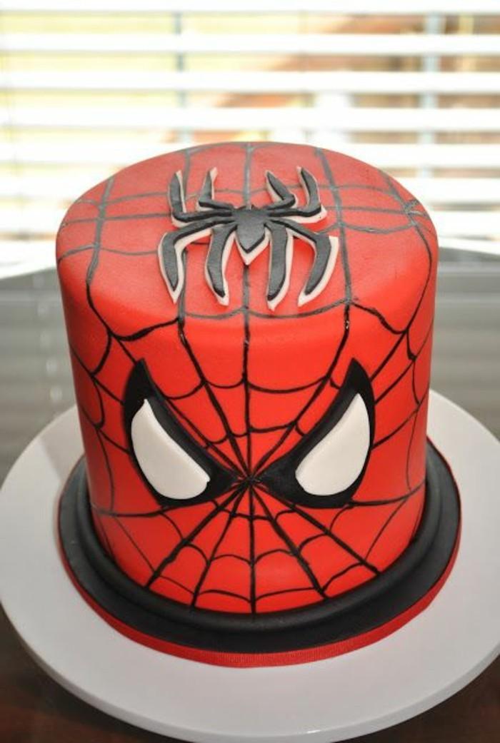 gateau-spiderman-tete-de-spiderman-gateau-original