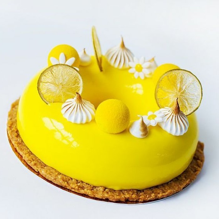 100 photos de desserts au gla age miroir et quelques for Idee de dessert original
