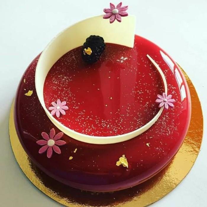 100 photos de desserts au gla age miroir et quelques for Effet miroir sur une photo