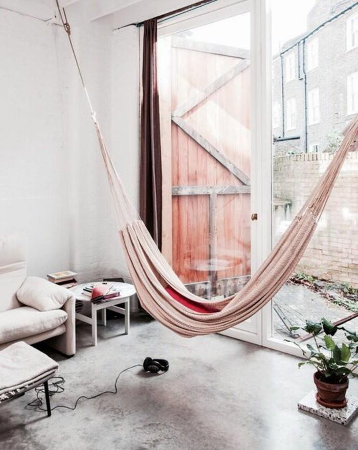 hamac-interieur-un-pot-avec-une-plante-verte