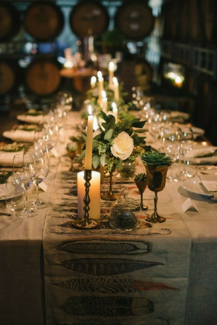 idee-deco-mariage-champetre-chic-decoration-diy-table-longue-fleurs