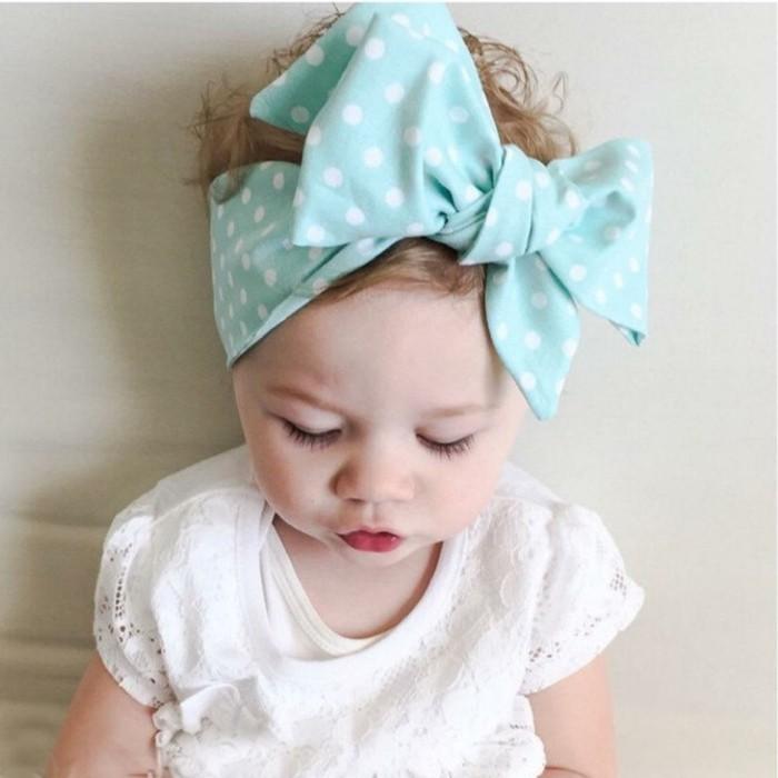 joli,noeud,bleu,idee,coiffure,bebe,fille,geniale,