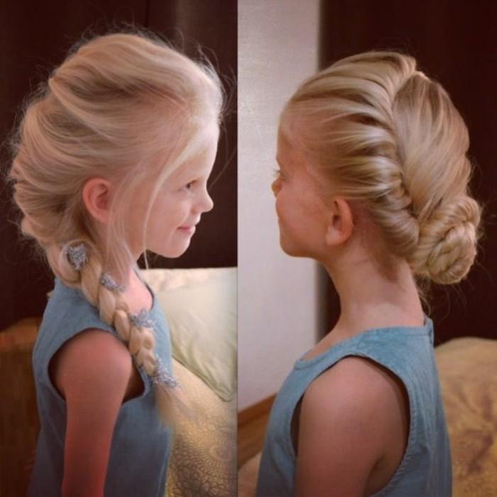 jolie-coiffure-petite-fille-chignon-tresse-tres-elegant-formidable-pour-votre-fille-e1474980652754