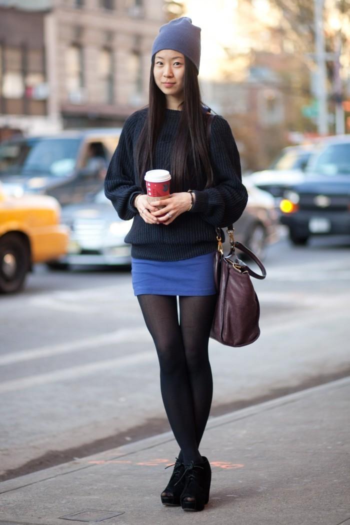 jolies-bottes-tendances-bottines-a-talon-femme-jupe-courte-bottines