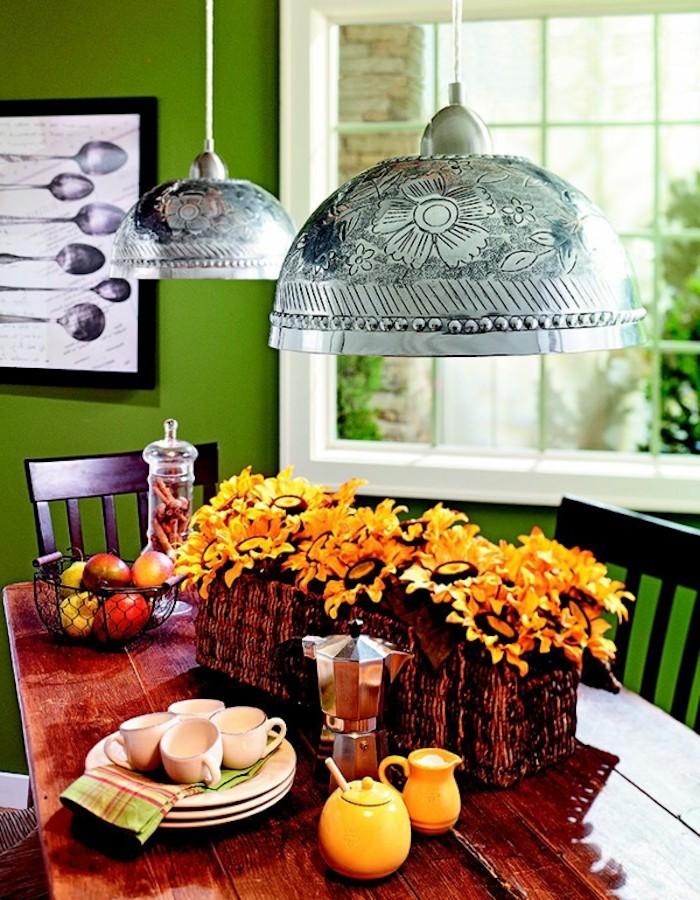 lampe chandelier original saladier abat-jour-idee-deco-diy