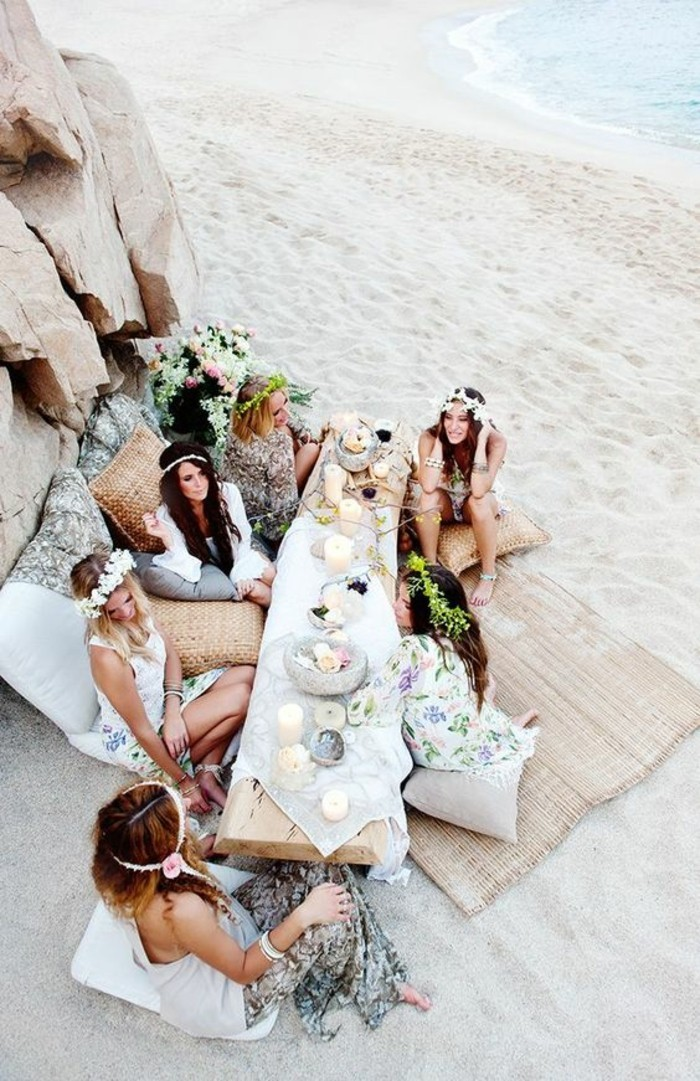 la,table,plage,deco,mariage,boheme,chic,comment,