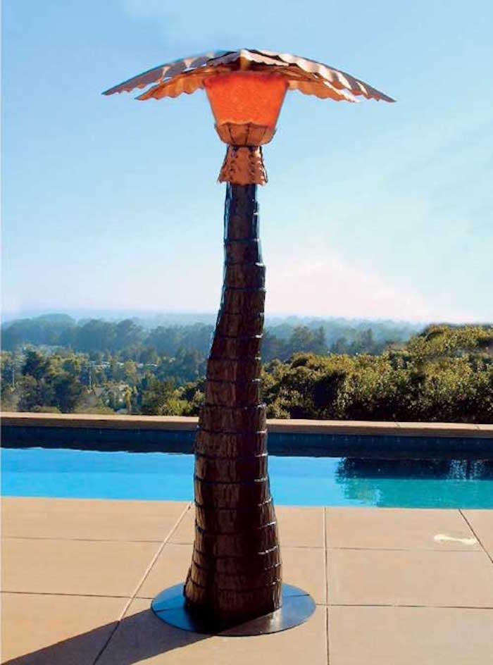 Parasol chauffant profitez de la terrasse toute l 39 ann e for Lampadaire exterieur de terrasse