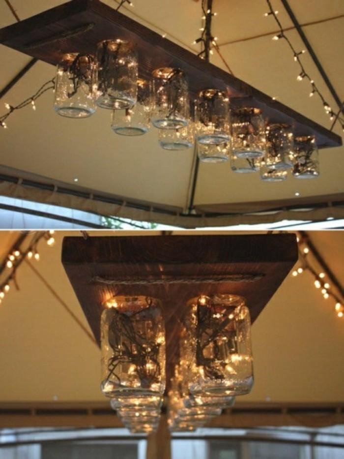 lampe-chandelier-bocaux-verre