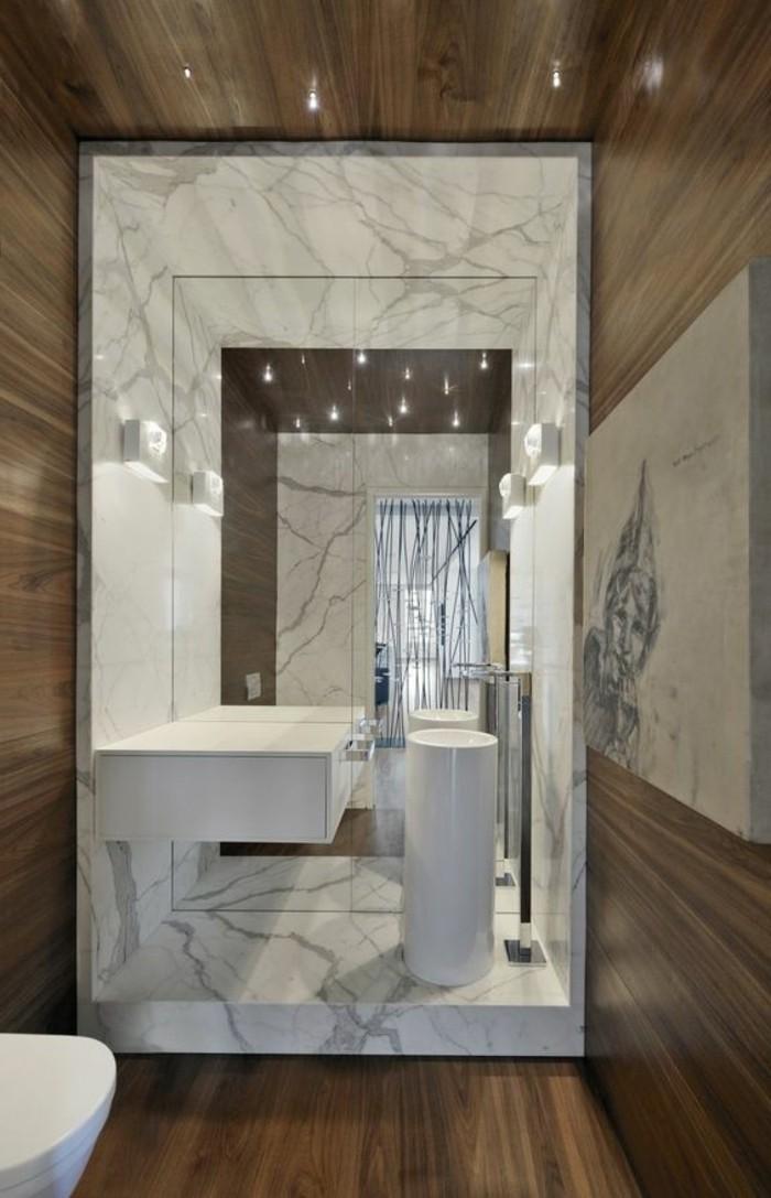 Le lavabo colonne en 81 photos inspirantes for Colonne salle de bain vert pomme