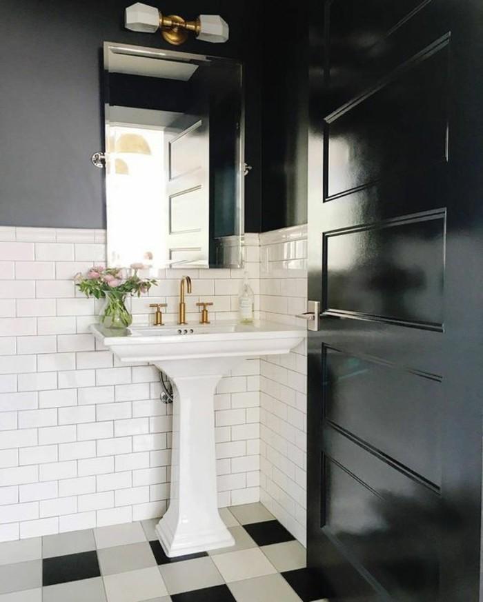 le lavabo colonne en 81 photos inspirantes. Black Bedroom Furniture Sets. Home Design Ideas