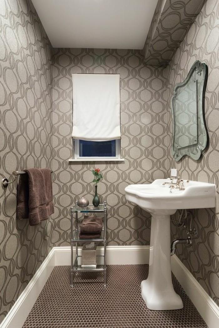 lavabo-colonne-deco-murale-de-salle-de-bain-papiers-peints