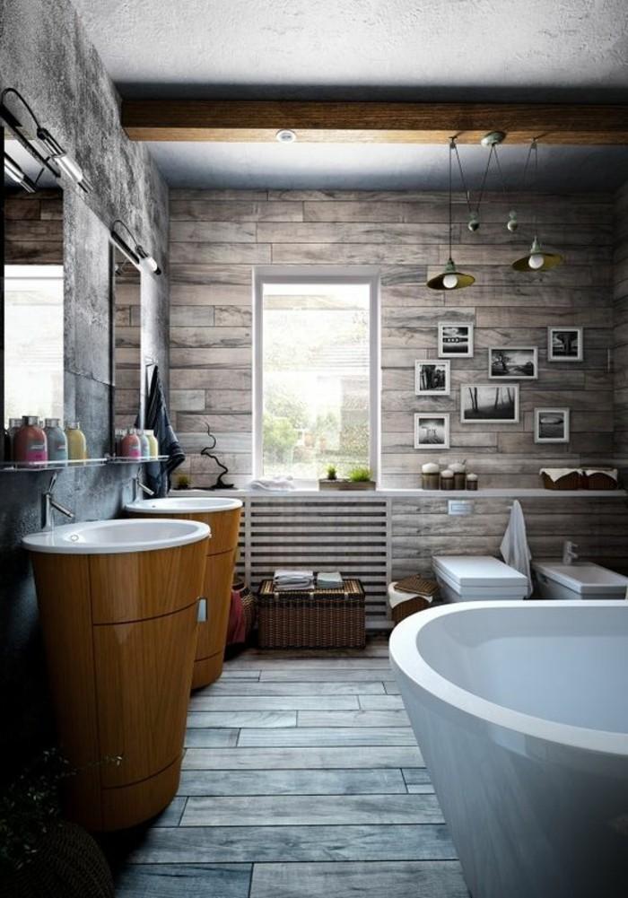 lavabo-colonne-deux-lavabos-colonnes-et-baignoire-blanche