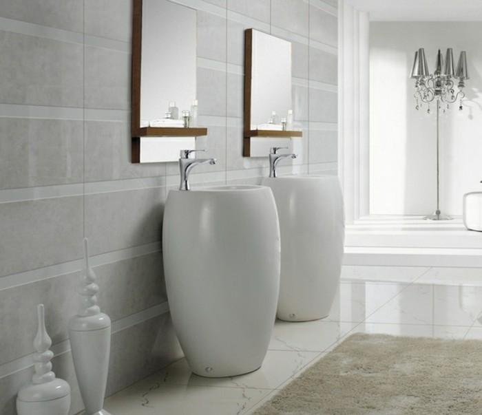 lavabo-colonne-salle-de-bain-stylee-vasque-blanche-colonne