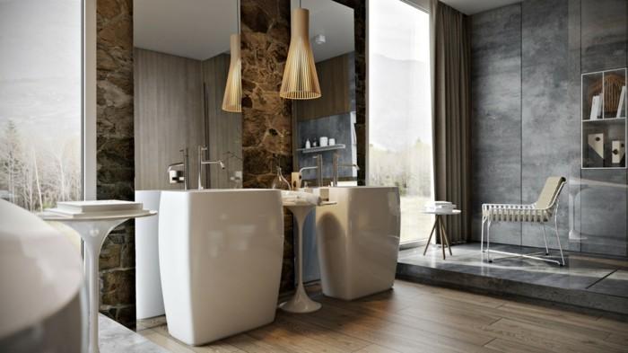 lavabo-colonne-vasque-en-porcelaine-et-carrelage-effet-beton