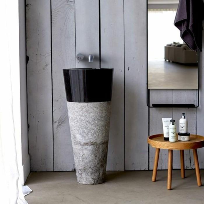lavabo-colonne-vasque-marbree-noir-et-blanc-tabouret