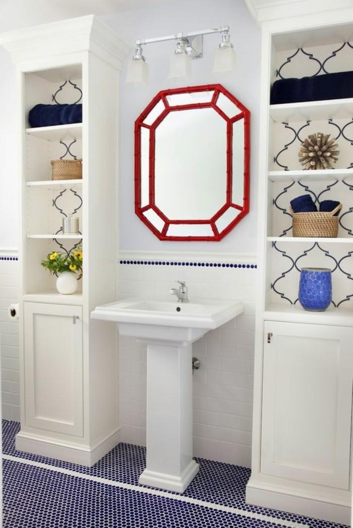 lavabo-colonne-vasque-sur-pied-miroir-rouge-design