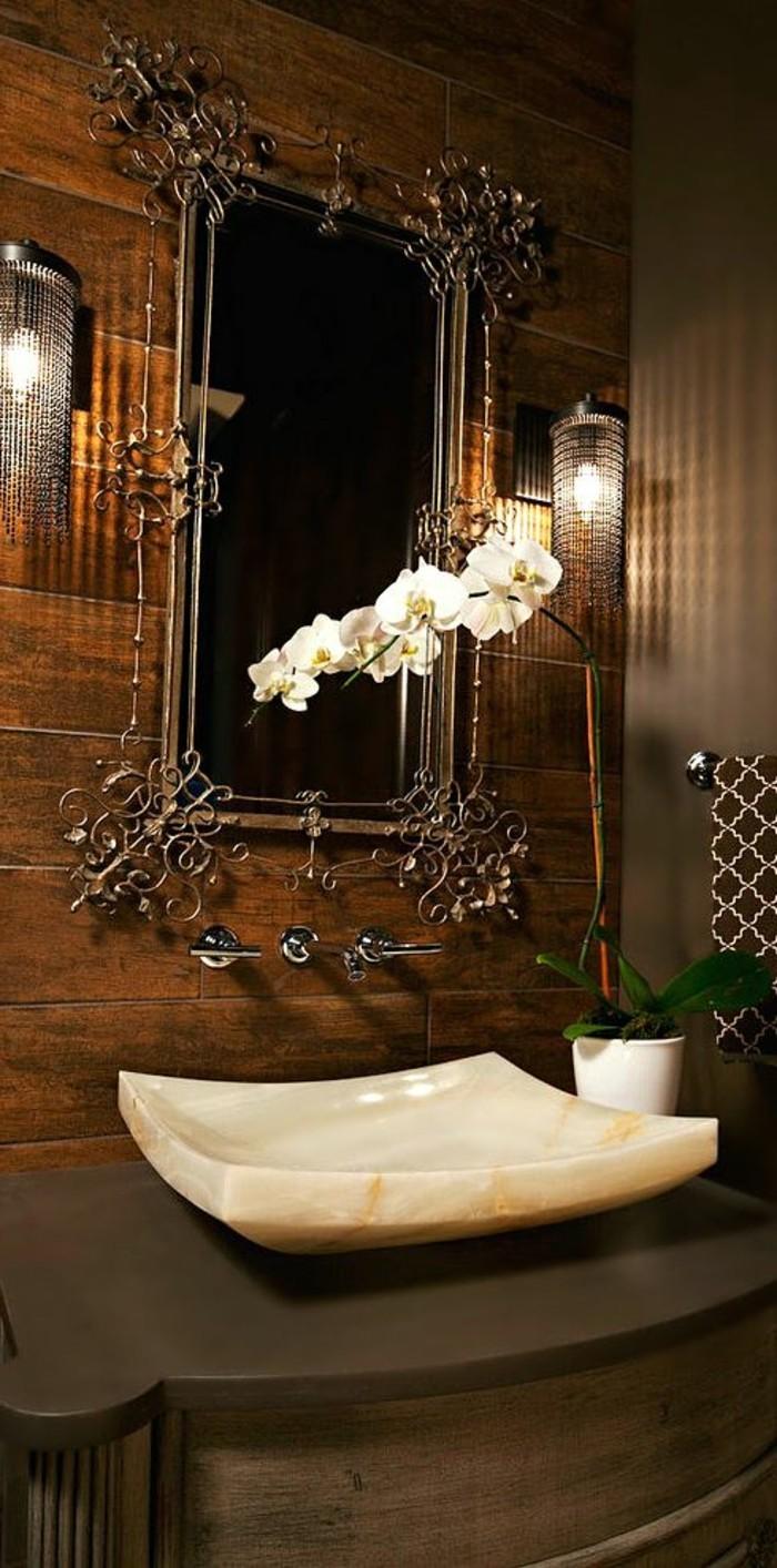 Accessoire Salle De Bain Couleur Or ~ le lavabo en pierre en 61 photos et des astuces d co archzine fr