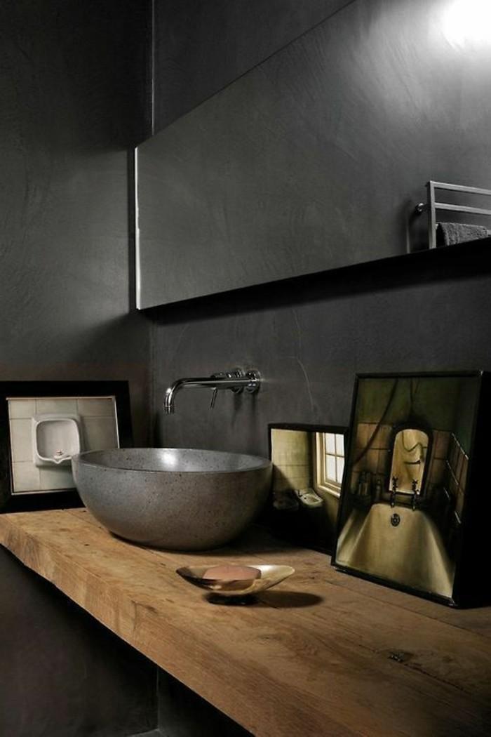 Le lavabo en pierre en 61 photos et des astuces d co for Meuble salle de bain design luxe