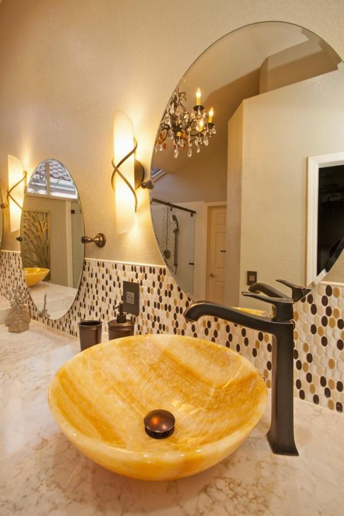 Le lavabo en pierre en 61 photos et des astuces d co for Salle de bain en pierre