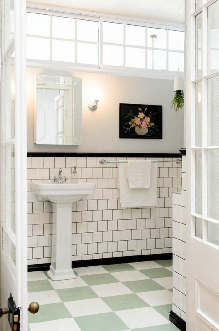 lavabo-retro-carrelage-metro-blanc-et-damier-au-sol