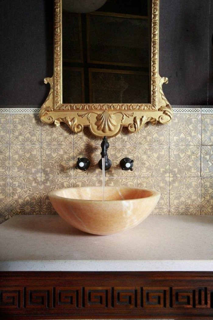 choisissez un joli lavabo retro pour votre salle de bain. Black Bedroom Furniture Sets. Home Design Ideas