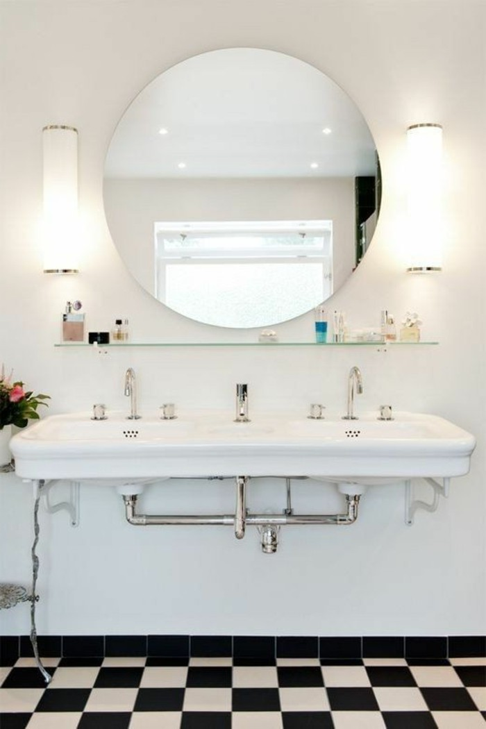 stunning lavabo double vasque retro photos design trends
