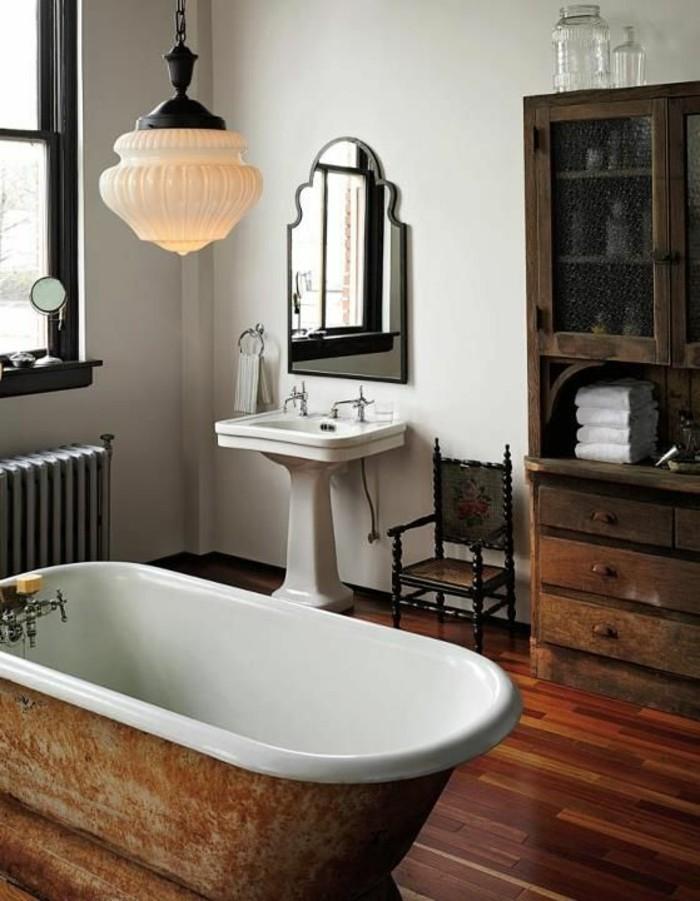 lavabo-retro-lavabo-sur-pied-baignoir-a-poser-sol-bois