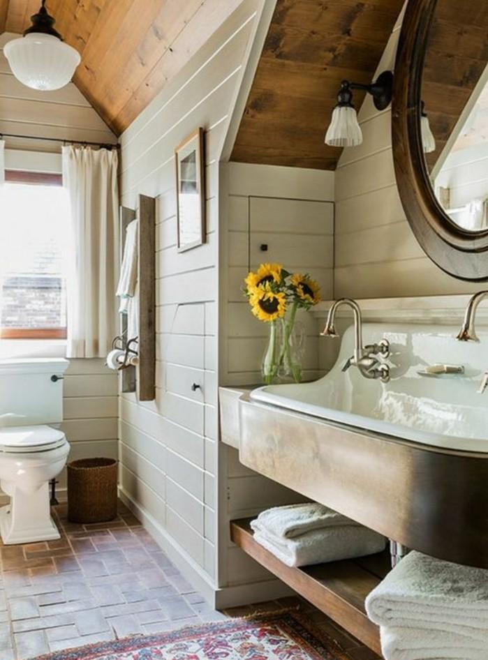 Choisissez un joli lavabo retro pour votre salle de bain for Meuble de salle de bain ancien