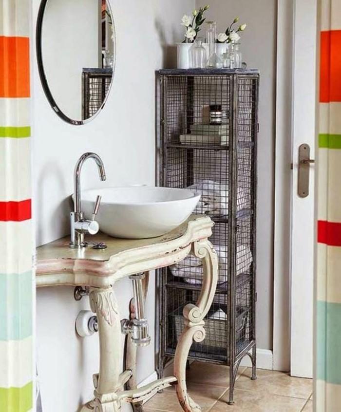 Choisissez un joli lavabo retro pour votre salle de bain - Meuble sous lavabo design ...