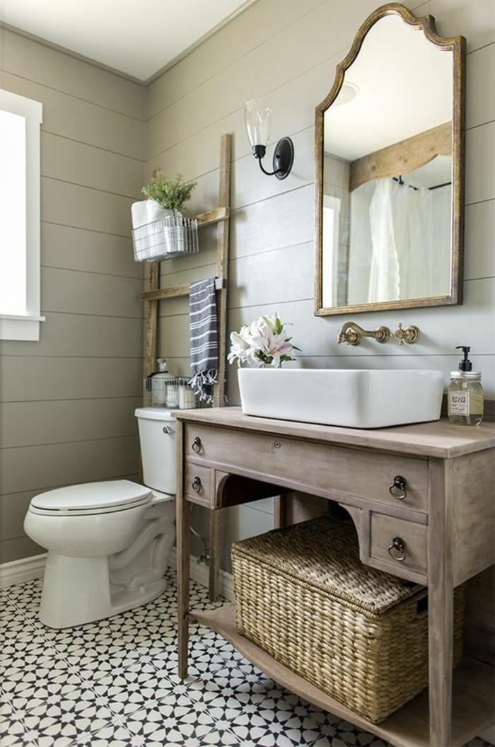 lavabo-retro-meuble-sous-lavabo-en-bois-vintage-et-miroir