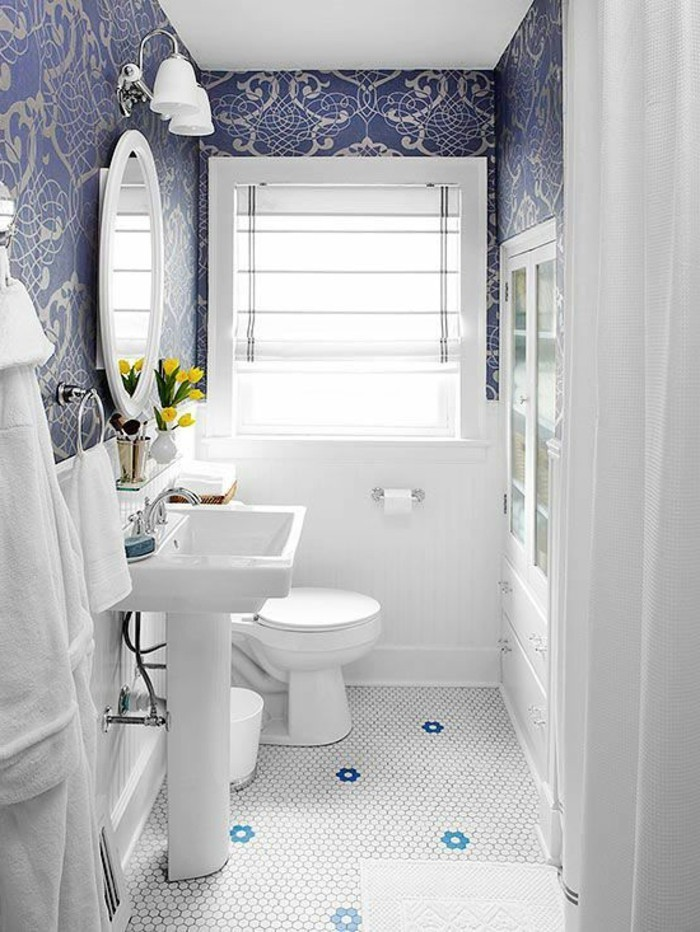 Lavabo retro salle de bain id es de for Salle de bains retro