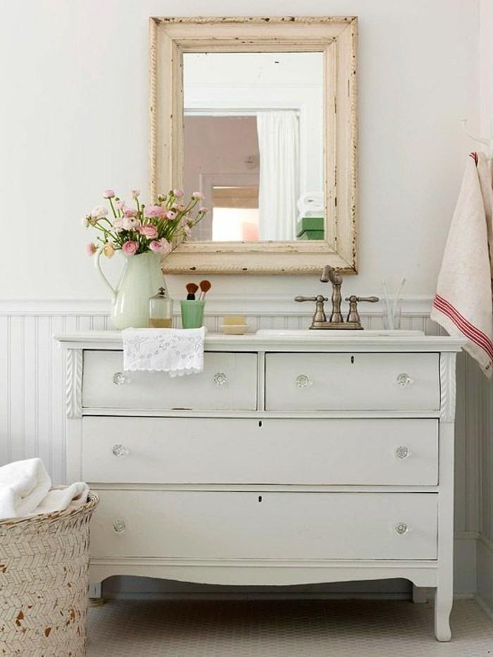 Choisissez un joli lavabo retro pour votre salle de bain - Meuble de salle de bain style baroque ...