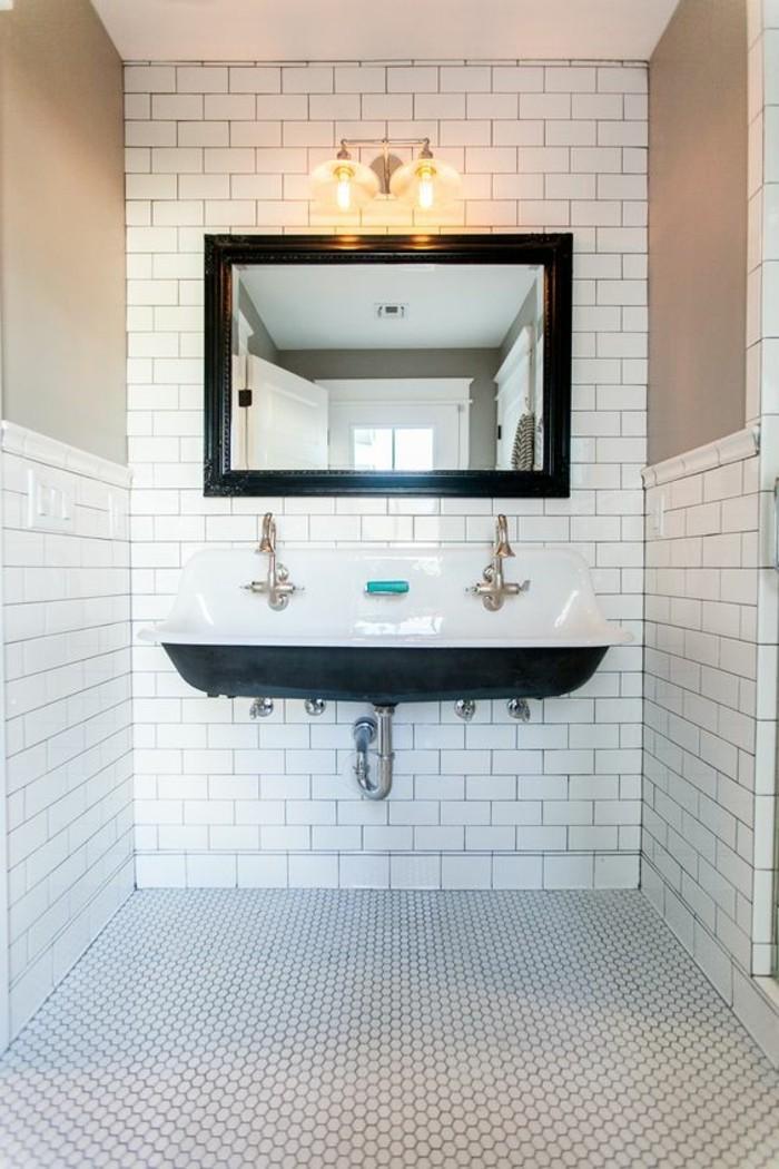 Choisissez un joli lavabo retro pour votre salle de bain for Meuble de salle de bain avec lavabo