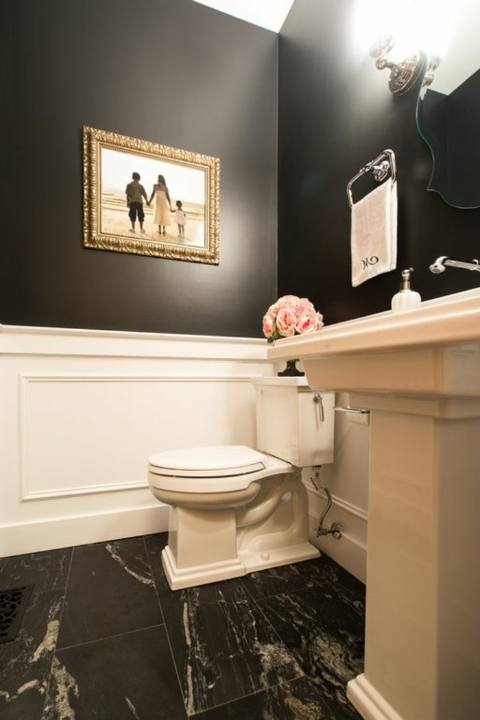 lavabo-retro-vasque-colonne-couleur-creme-carrelage-noir