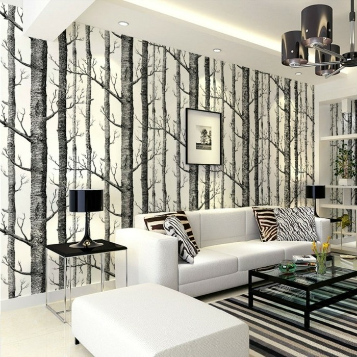 papier peint tendance et design les meilleurs mod les 2016 2017. Black Bedroom Furniture Sets. Home Design Ideas