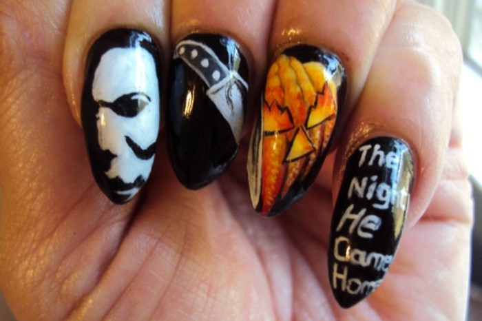 le-model-ongle-manucure-blanche-diy-effrayant-helloween