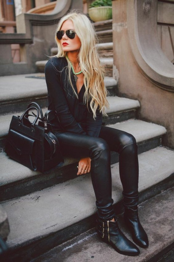 les-bottes-tendance-bottines-a-la-mode-chic-de-la-rue