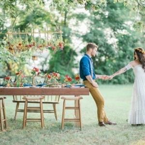 84 idées pour la déco de votre mariage bohème chic