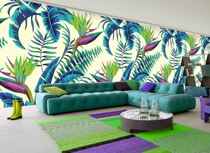 magnifique-idee-papier-peint-tendance-inspiration-tropicale-empreinte-d-exotisme