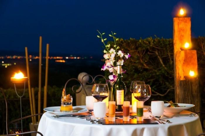 Trouvez la meilleure idée repas romantique - Archzine.fr