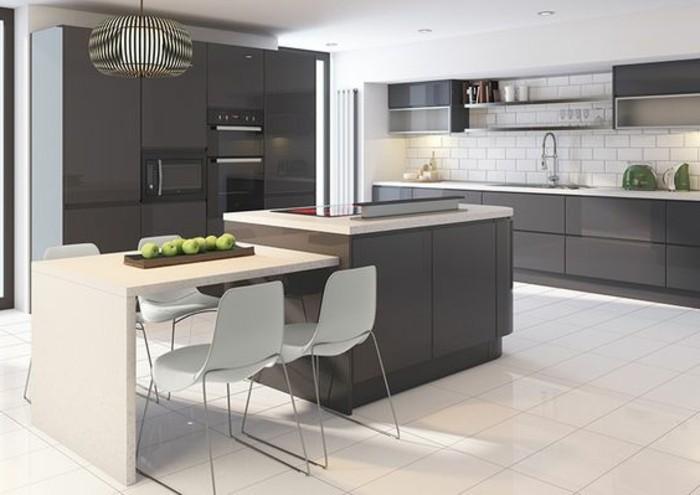 meubles-cuisine-facade-cuisine-gris-anthracite-ilot-de-cuisine-couleur-anthracite-carrelage-blanc-design-cuisine-contemporaine