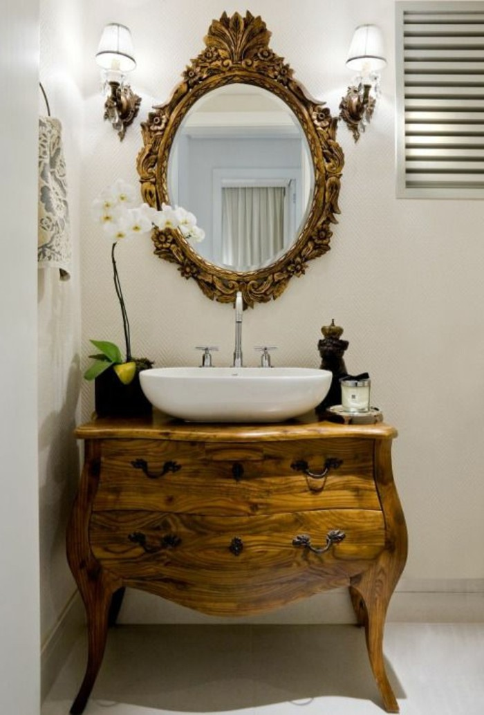 miroir-original-finition-vintage-commode-baroque-en-bois