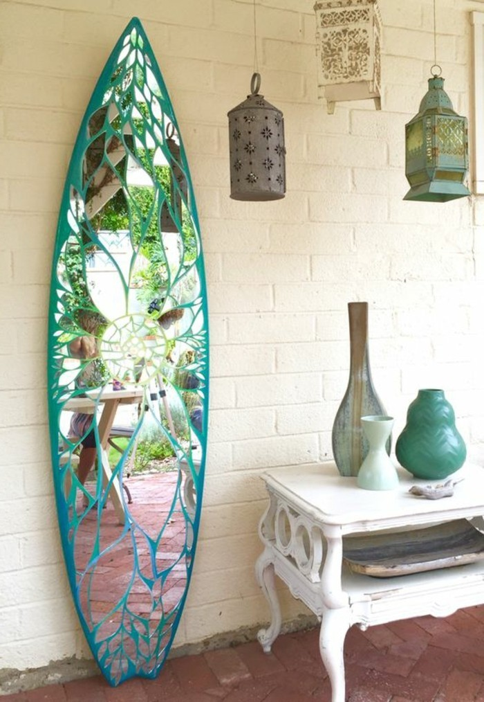 40 exemples de d coration avec un miroir original for Miroir forme originale